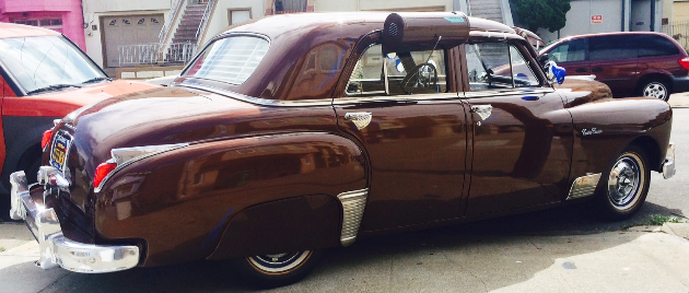 1949 DODGE CUSTOMER KELLY SAN FRANCISCO CALIFORNIA