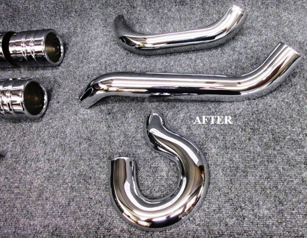 HARLEY DAVIDSON CUSTOM EXHAUST PIPES.