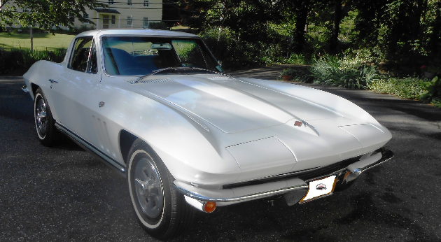 1965 CORVETTE STINGRAY BUMPERS.