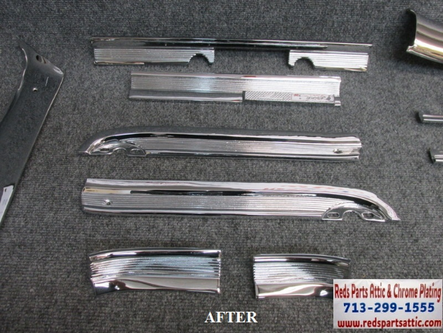 1963 FORD SPRINT TRIM PIECES.