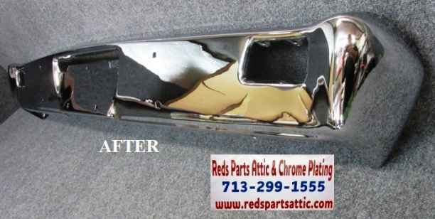 1966 PLYMOUTH VALIANT FRONT BUMPER.