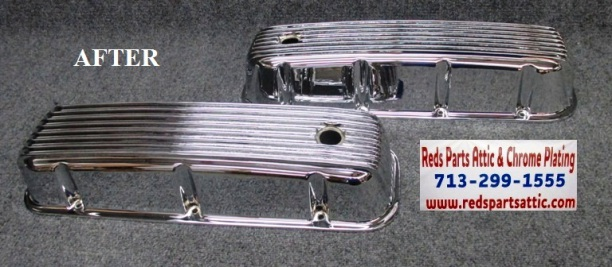 ALUMINUM VALVE COVERS.