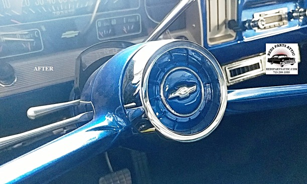 1966 CHEVY C10 PICK UP HORN BUTTON.