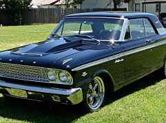 ED GIANANTONIO 1963 FORD FAIRLANE 500.
