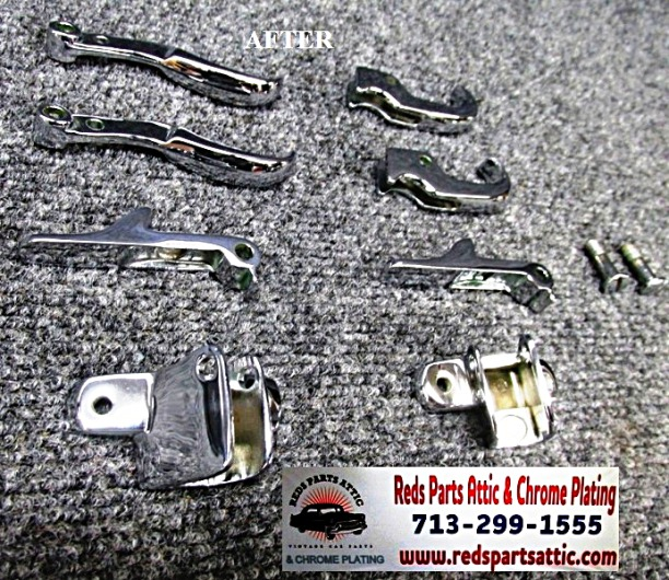1959 MERCEDES 190SL LATCHES AND HOOKS.