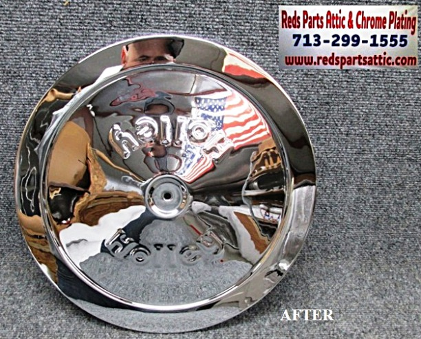 HOLLEY AIR CLEANER COVER.