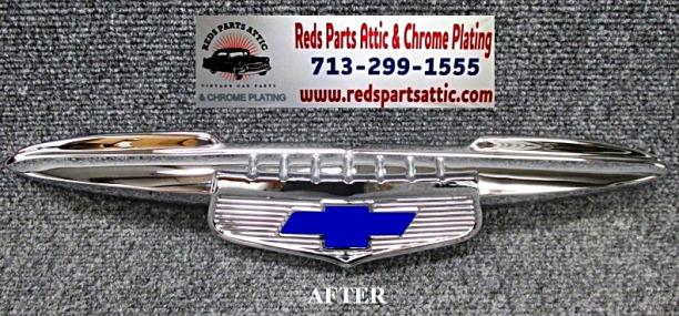 Reds Parts Attic Chrome Plating Classic Car Chrome Parts