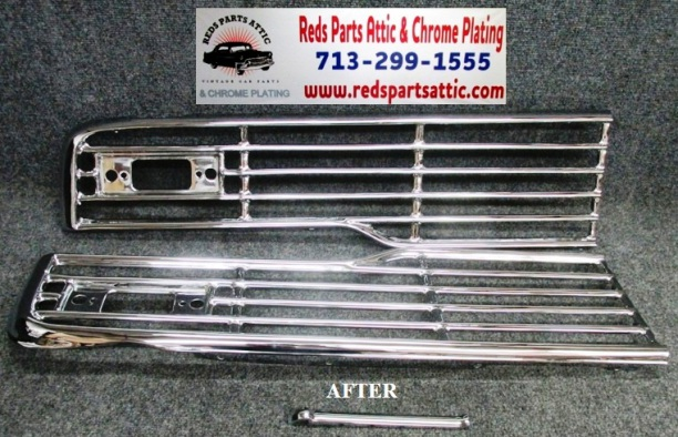 1957 FORD GRILLE.