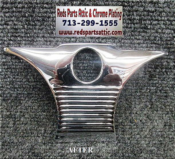1951 CHEVY DASH TRIM PLATE.