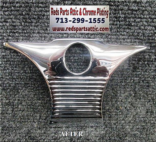 1951 CHEVY DASH TRIM PLATE.