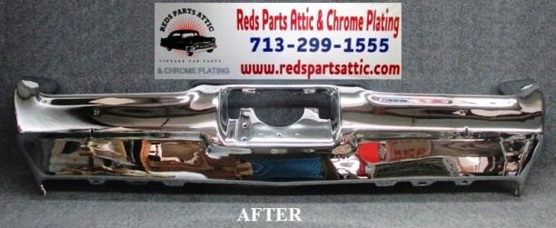 1969 PONTIAC GTO REAR BUMPER.