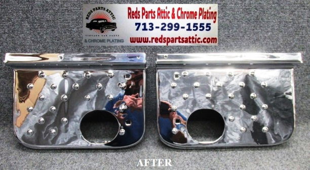 1978 DODGE LITTLE RED WAGON STEP PLATE.