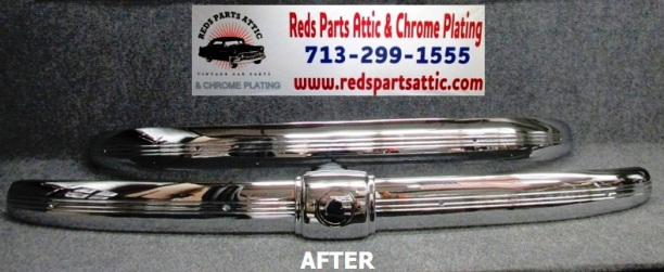1935 PONTIAC FRONT & REAR BUMPERS.