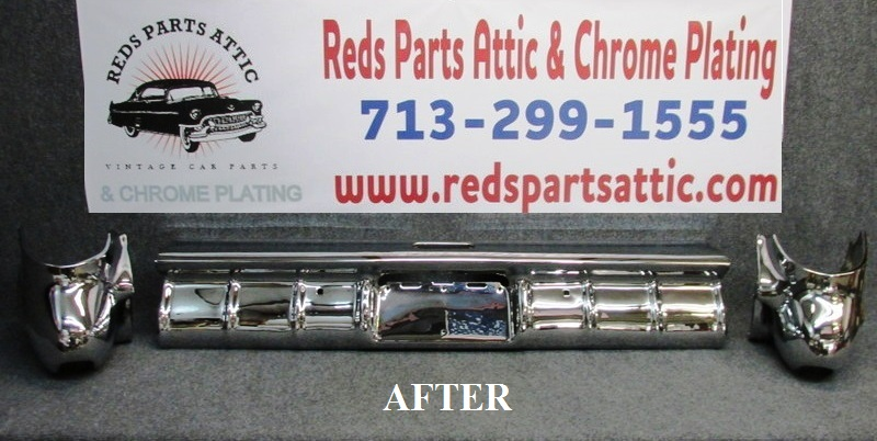 Reds Parts Attic - CHROME PLATING Classic car chrome parts plating