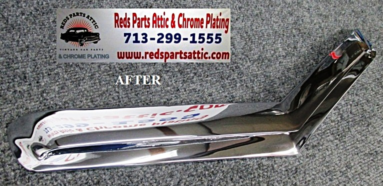 Reds Parts Attic - CHROME PLATING Classic car chrome parts