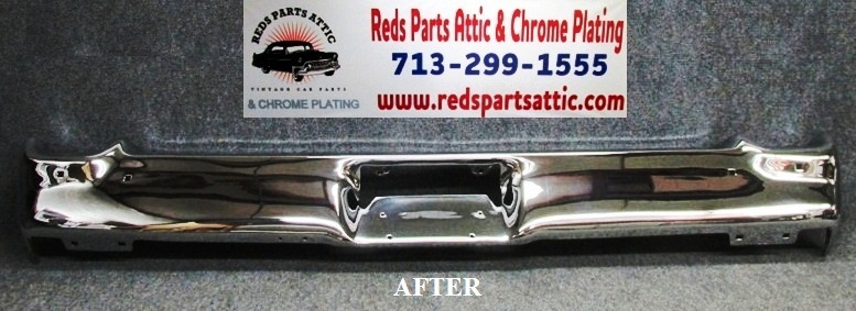 Reds Parts Attic - CHROME PLATING Classic car chrome parts